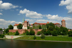 Wawel Castle, Royal palace in Cracow Royalty Free Stock Images