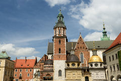 Wawel Castle, Royal palace in Cracow Royalty Free Stock Image