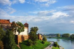 The Wawel Castle Royalty Free Stock Images