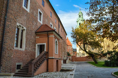 Wawel Castle Square Royalty Free Stock Image
