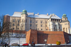 Wawel castle Stock Photography