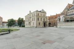Wawel Castle stock image