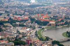 Wawel Castle, Vistula river in Krakow, Poland Royalty Free Stock Photo