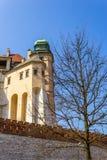 Wawel Castle at Wawel Hill in Krakow Royalty Free Stock Photo