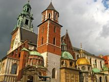 Wawel Cathedral 14 Stock Images