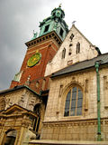 Wawel Cathedral 15. Wawel Cathedral on Wawel Hill in Krakow, Poland Royalty Free Stock Image