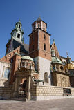 Wawel Cathedral. Wavel Cathedral in a city of Krakow, Poland stock photography