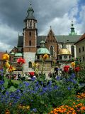 Wawel cathedral. In Krakow, Poland Royalty Free Stock Photos