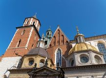 Wawel cathedral and castle in Krakow, Poland Stock Photography