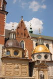 Wawel Cathedral in Cracow. Royalty Free Stock Photo