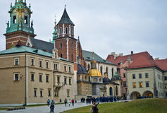 Wawel cathedral, Cracow Poland Stock Image