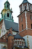 Wawel cathedral, Cracow Poland Stock Images