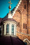 Wawel Cathedral - famous Polish landmark on the Wawel Hill in Cracow Royalty Free Stock Photo