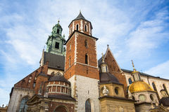Wawel Cathedral in Kracow, Poland. Religion. Stock Photo