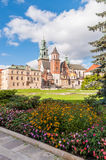 Wawel cathedral in Krakow Royalty Free Stock Photo