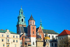 Wawel Cathedral, Krakow Royalty Free Stock Photography