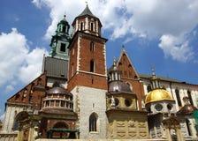 Wawel Cathedral, Krakow, Poland Stock Photography