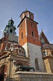 Wawel cathedral Stock Photography