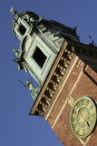 Wawel Cathedral in Krakow, Poland. Tower of the Wawel Cathedral in Krakow, Poland Stock Photos