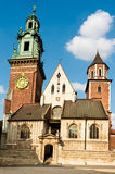 Wawel Cathedral, Krakow, Poland Royalty Free Stock Photography
