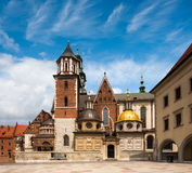 Wawel Cathedral in Krakow, Poland Stock Photo