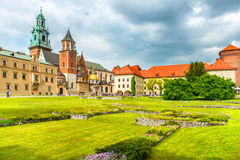 Wawel Cathedral in Krakow, Poland. Stock Images