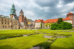 Wawel Cathedral in Krakow, Poland. Royalty Free Stock Images