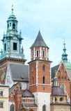Wawel Cathedral (Krakow, Poland) Stock Images
