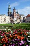 Wawel cathedral, Krakow, Poland Stock Image