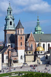 Wawel cathedral, Krakow, Poland Royalty Free Stock Image