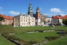 Wawel cathedral, Krakow, Poland Stock Photos