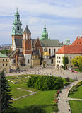 Wawel Cathedral in Krakow, Poland Stock Photos
