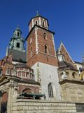 Wawel Cathedral in Krakow Royalty Free Stock Images