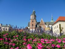 Wawel Cathedral in Krakow Stock Photography