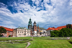 Wawel Cathedral Royalty Free Stock Photo