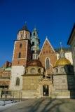 Wawel cathedral on Wawel Hill in Krakow Stock Photo