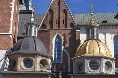 Wawel Cathedral  on Wawel Hill, Kraow, Poland Stock Photos