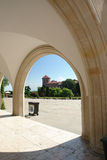 Wawel cortile Foto de Stock Royalty Free