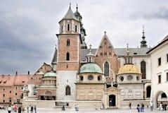 Wawel a Cracovia Fotografia Stock