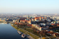 Wawel cracow Royalty Free Stock Photo