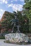 Wawel Dragon Sculpture Stock Photos