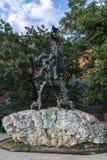 Wawel Dragon Sculpture stock image