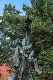 Wawel Dragon Sculpture Royalty Free Stock Photos