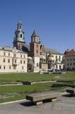 Wawel en bank Royalty-vrije Stock Fotografie