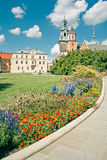 Wawel en Kraków Imagenes de archivo
