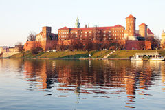 Wawel glare Stock Photography