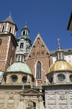 Wawel gold dome3 Royalty Free Stock Photos