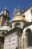 Wawel gouden dome2 Royalty-vrije Stock Afbeeldingen