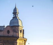 Wawel hill with cathedral and castle in Krakow Royalty Free Stock Images