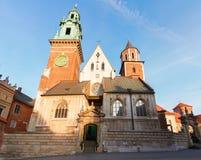 Wawel hill in Krakow, Poland Stock Photo